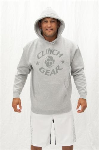 Clinch Gear Clinch Gear Grey Hoodie